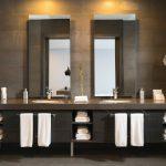 dark bathroom masculine ideas